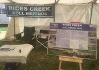 Rices Creek Display at Burra Field Days
